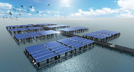 수상태양광발전